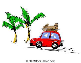 SUV - car camping