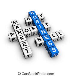 market crossword