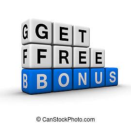 bonus symbol - get free bonus symbol for sales promotion