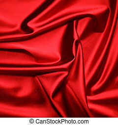 red satin background close up