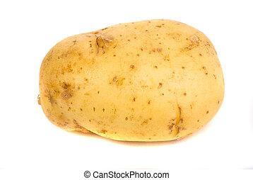 potato isolated white