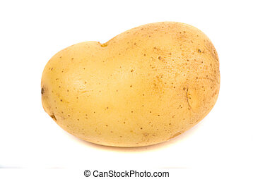 potato isolated white background