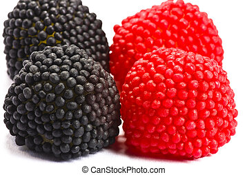 Candy blackberries