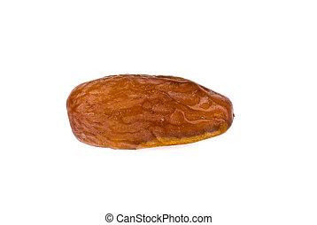 almond on white