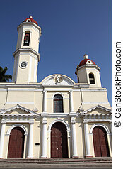 Cienfuegos, Cuba - Cuba - colonial town architecture...