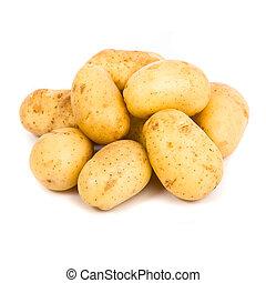 potato isolated white background
