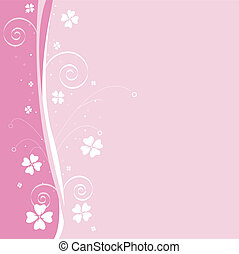 floral pattern, background