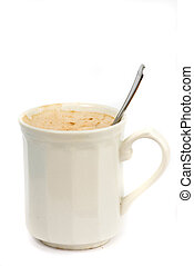 coffe on white background