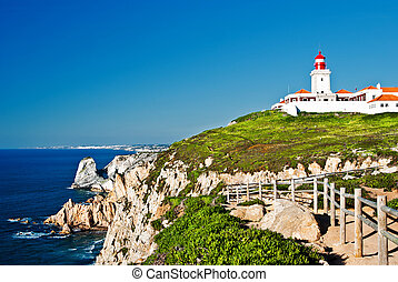 Cabo da Roca (Cape Roca) is a cape which forms the...