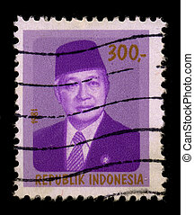 Postage stamp - INDONESIA - CIRCA 1981: A stamp dedicated to...