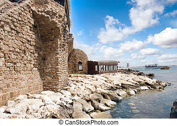 Ancient fortress - Remains of the ancient fortress walls in...
