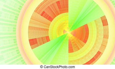 Portal With alpha channel - HD abstract fractal art...