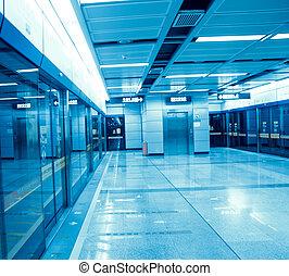 subway station in guangzhou, China