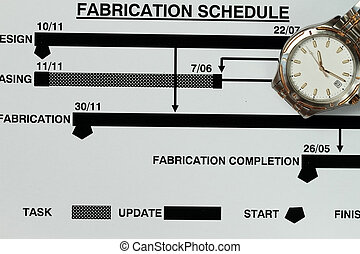 Fabrication schedule