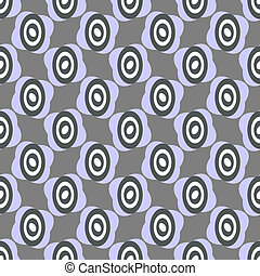 Grey  repeating pattern