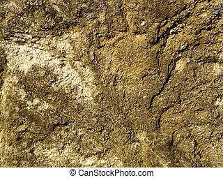 yellow brown stone wall background