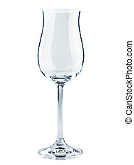 goblet - single modern goblet over the white background