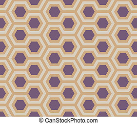 seamless dusty purple hexagons