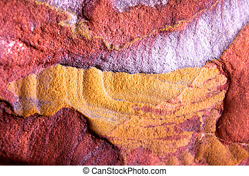Color Flux - Petra Tomb Sandstone Macro