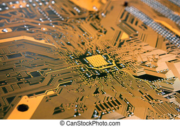 Computer Circuit Board Royalty Free Stock Photo Add to...
