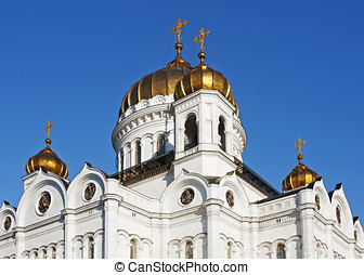 dome of the Cathedral of Christ the Savior - dome of the...