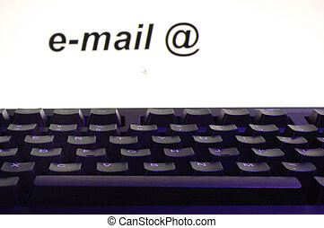 E-mail in computer