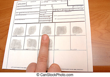 IDcard - taking fingerprints