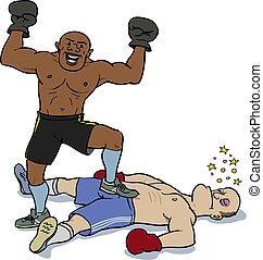 knockout, vitória