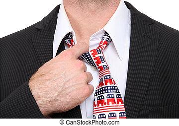 Republican Business Man - A Republican GOP senator or...