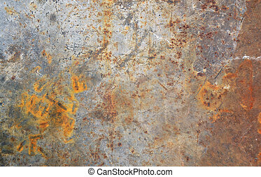 Rusty steel background