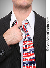 Republican Business Man - A Republican GOP senator or...