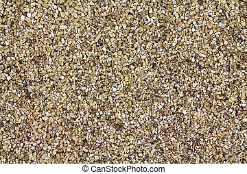 Layer of vermiculite - Close view of a layer of vermiculite...