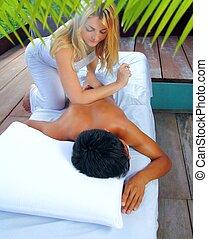 Mayan massage paravertebral physiotherapy - Mayan massage...