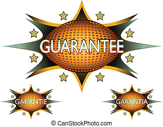 retro guarantee sign