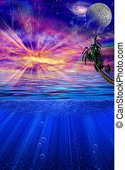 Paradise Shores - Sunset in Paradise