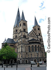 Bonn, Germany - Minster Cathedral of Bonn, Germany