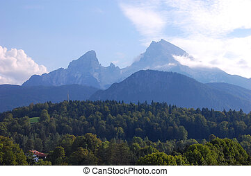 Watzmann - Watmann near Berchtesgaden The third highest...