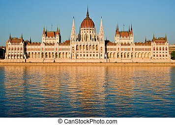 The Parliament, Budapest - The Parliament of Hungary,...