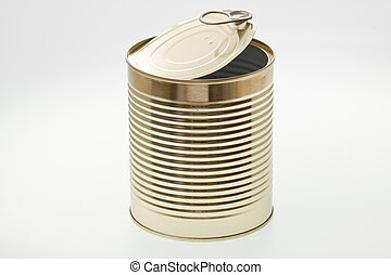 Tin - A single open tin