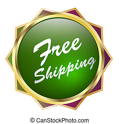Free Shipping - Illustration of Free Shipping