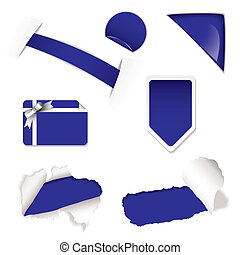 Shop sale elements purple