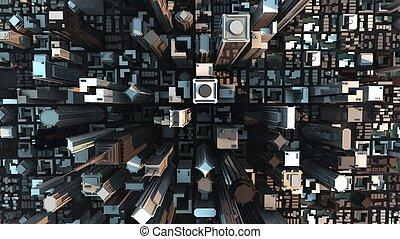 city concept  - city concept