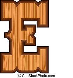 Western E letter