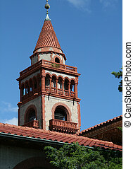 Flagler College Tower - Flagler college located in historic...