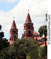 Flagler College - Flagler college located in historic St...