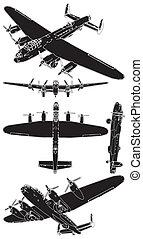 militare, elica, aeroplani