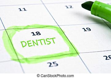 歯科医, 印