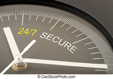 24/7 for security
