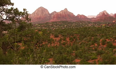 Sedona Arizona - Overcast skies in Sedona Arizona