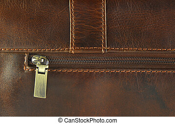 worn leather with zipper  texture